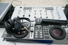 Sistema audio Fotos de archivo