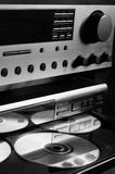 Sistema audio da Olá!-Extremidade Fotos de Stock
