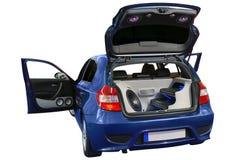 Sistema audio del coche Imagenes de archivo