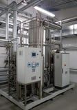 Sistema automático da filtragem da água Fotografia de Stock Royalty Free
