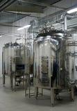Sistema automático da filtragem da água Fotos de Stock Royalty Free