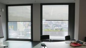 Sistema automático de cortinas de rolo da tela filme