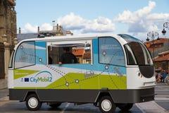 Sistema automático del transporte por carretera Fotografía de archivo libre de regalías