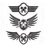 Sistema automotriz de Wing Logo Fotografía de archivo libre de regalías