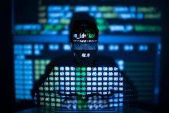Sistema binario Fotografia Stock Libera da Diritti
