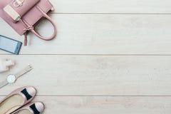 Sistema casual hermoso de la moda de la mujer Fotos de archivo libres de regalías