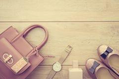 Sistema casual hermoso de la moda de la mujer Imagen de archivo libre de regalías