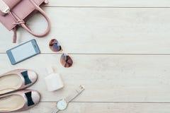 Sistema casual hermoso de la moda de la mujer Fotos de archivo