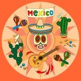 Sistema colorido de México Fotografía de archivo libre de regalías