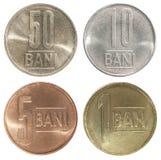 Sistema completo de la moneda Romani imagen de archivo libre de regalías