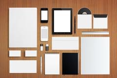 Sistema corporativo en blanco de la identificación Fotos de archivo libres de regalías