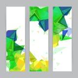 Sistema creativo de la bandera del sitio web Imagen de archivo libre de regalías
