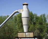 Sistema d'estrazione domestico dell'aria Fotografie Stock