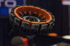 sistema da câmera da realidade 360-Degree virtual Imagem de Stock Royalty Free