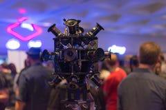 sistema da câmera da realidade 360-Degree virtual Fotografia de Stock Royalty Free