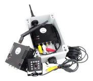 Sistema da câmera de Mini Wireless Digital imagens de stock royalty free