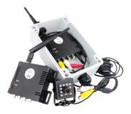 Sistema da câmera de Mini Wireless Digital imagens de stock