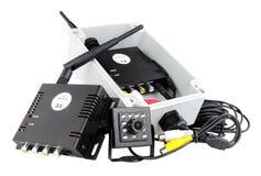 Sistema da câmera de Mini Wireless Digital fotografia de stock