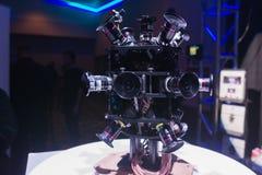 Sistema da câmera de uma realidade virtual de 360 graus Foto de Stock Royalty Free