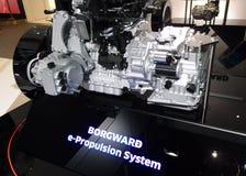 Sistema da e-propulsão de Borgward nos carros de IAA Imagem de Stock Royalty Free
