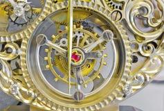 Sistema da engrenagem dos relógios Foto de Stock