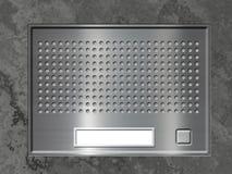 Sistema da entrada de porta ilustração stock