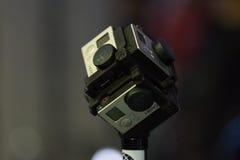 Sistema da Multi-câmera 360 VR Fotos de Stock