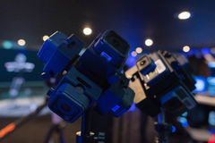 Sistema da Multi-câmera 360 VR Foto de Stock