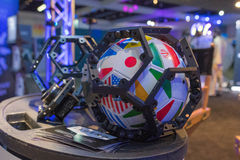 Sistema da Multi-câmera 360 VR Fotografia de Stock Royalty Free