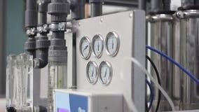 Sistema da osmose reversa video estoque