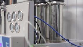 Sistema da purificação de água video estoque