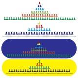 Sistema da referência, o binário ilustração royalty free