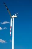 Sistema das energias eólicas Fotografia de Stock