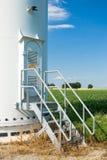 Sistema das energias eólicas Imagens de Stock Royalty Free