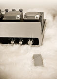 Sistema de áudio de fidelidade elevada   fotos de stock royalty free