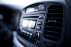 sistema de áudio do carro foto de stock royalty free