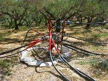 Sistema de abastecimiento del agua Imágenes de archivo libres de regalías