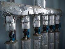 Sistema de abastecimiento del agua del condominio Imagen de archivo libre de regalías