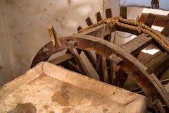 Sistema de abastecimiento del agua en Amer Fort, la India Imagen de archivo libre de regalías