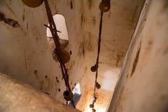 Sistema de abastecimiento del agua en Amer Fort, la India Foto de archivo