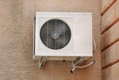 Sistema de aire acondicionado fotografía de archivo libre de regalías