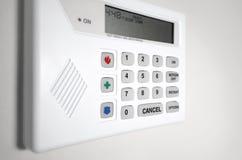 Sistema de alarma de la seguridad casera Foto de archivo libre de regalías