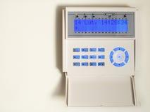 Sistema de alarma de la seguridad casera Fotos de archivo libres de regalías