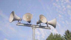 Sistema de alarma del altavoz metrajes
