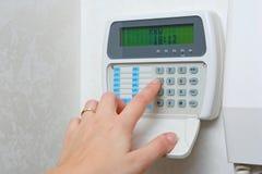 Sistema de alarma doméstico Fotografía de archivo libre de regalías