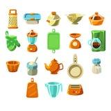 Sistema de Appliences de la cocina Imagen de archivo libre de regalías