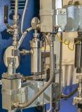 Sistema de aquecimento de espaço Imagem de Stock