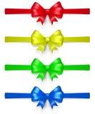 Sistema de arcos multicolores Fotografía de archivo