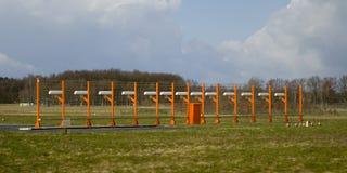 Sistema de aterrizaje automático Foto de archivo libre de regalías