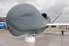 Sistema de aviões 2não pilotado do falcão global Fotos de Stock Royalty Free